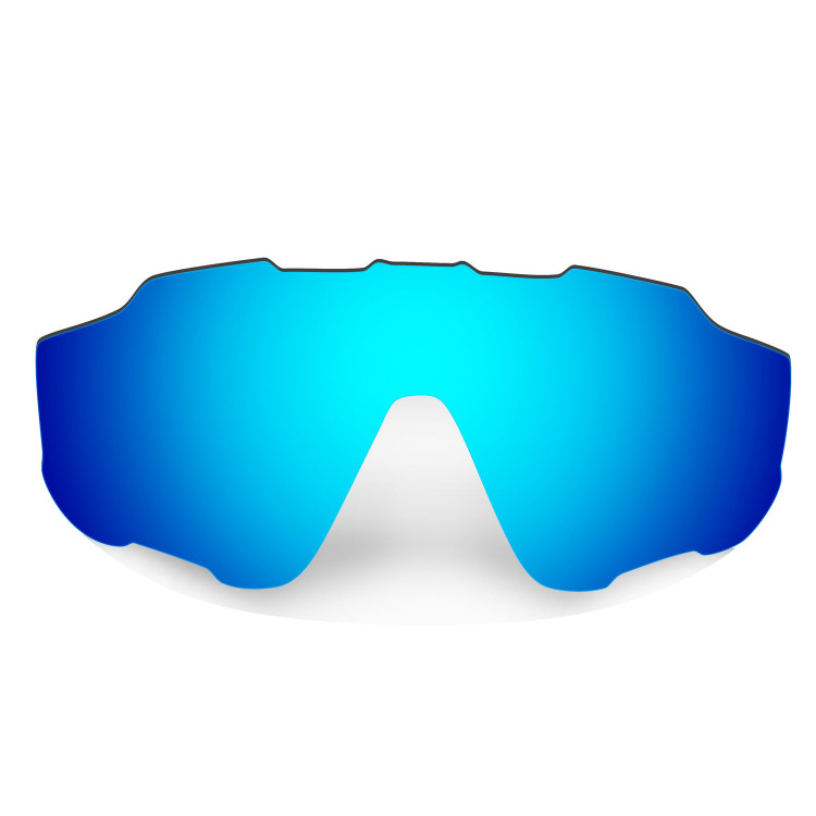 HKUCO Mens Replacement Lenses For Oakley X Squared Blue/24K Gold/Titanium Sunglasses Zj7t9fxE