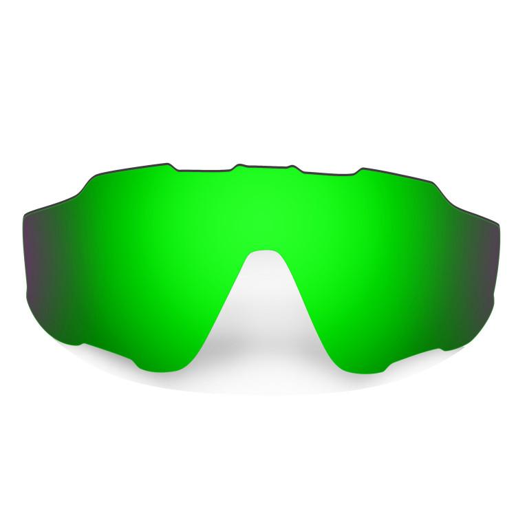 HKUCO Mens Replacement Lenses For Oakley X Squared Sunglasses Emerald Green Polarized G7YYe5OG