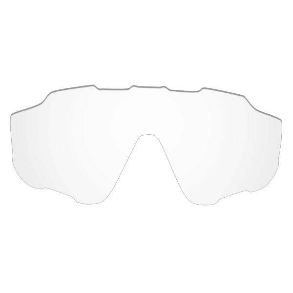 Hkuco Mens Replacement Lenses For Oakley Jawbreaker Sunglasses Transparent Polarized