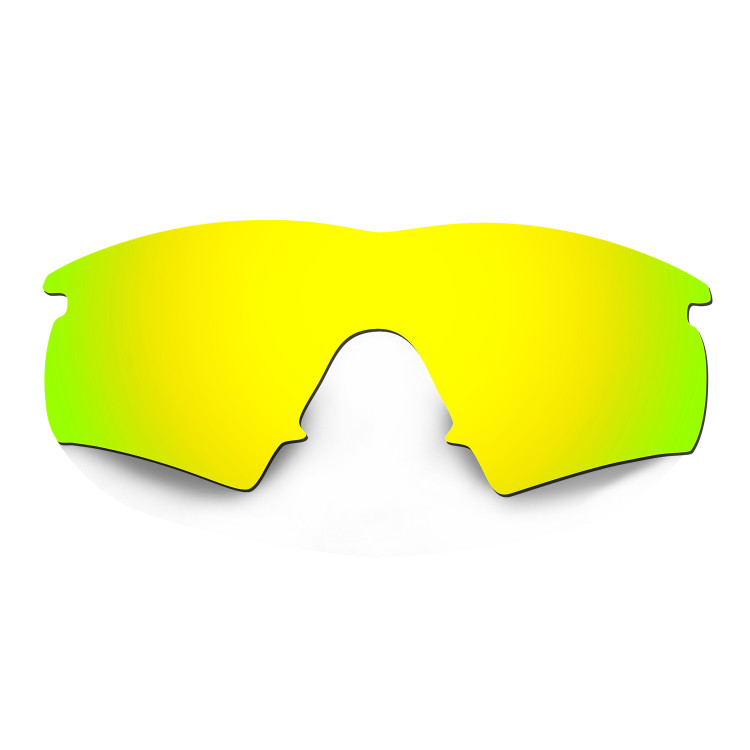 HKUCO Mens Replacement Lenses For dkEgO1a0nt M Frame Hybrid Red/24K Gold Sunglasses FGwEssOG