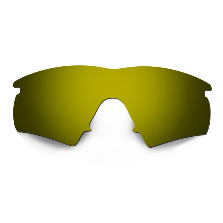 HKUCO Mens Replacement Lenses For Oakley M Frame Hybrid Sunglasses Bronze Polarized Gn87L5OJc