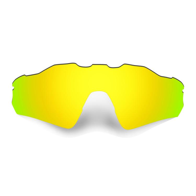 HKUCO Mens Replacement Lenses For Oakley Radar Path Black/Emerald Green Sunglasses RbJBTAA