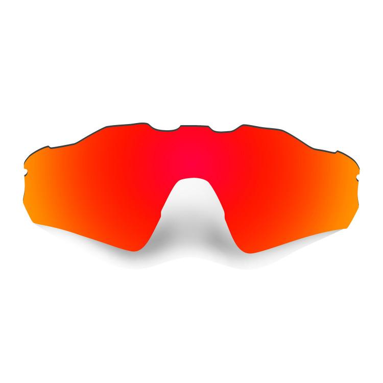 HKUCO Mens Replacement Lenses For Oakley Radar Path Red/Titanium Sunglasses aSNkjXqPTO