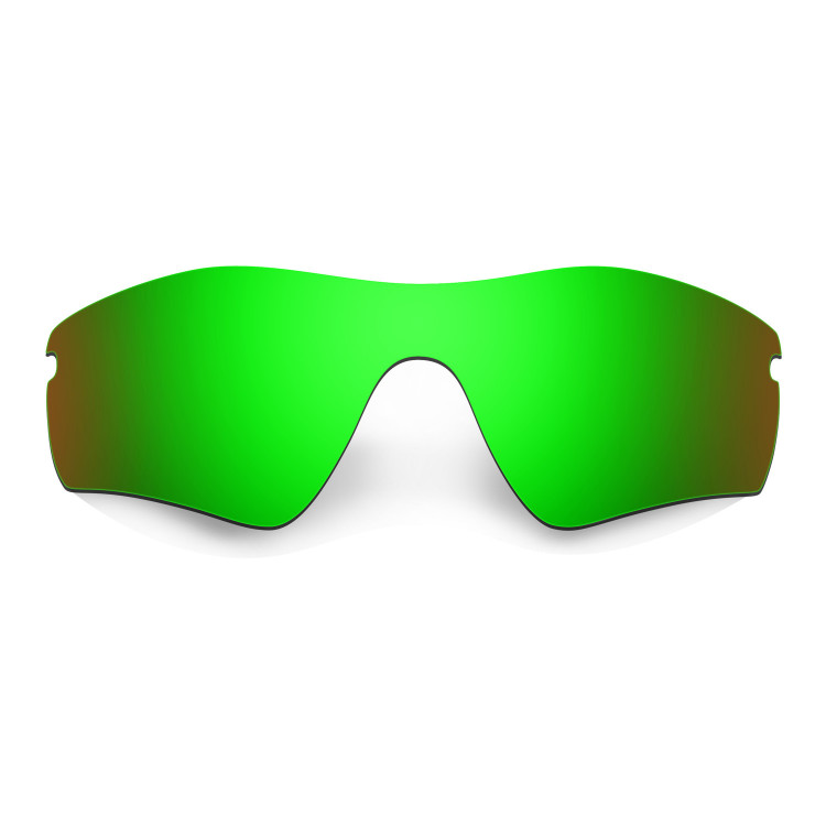 HKUCO Mens Replacement Lenses For Oakley Radar Path Sunglasses Emerald Green Polarized p9NoEyb