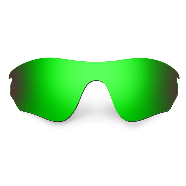 HKUCO Mens Replacement Lenses For rksFVib43m RadarLock Pitch Blue/Green Sunglasses soGia5Ll
