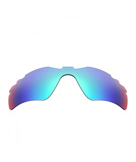 HKUCO Blue Polarized Replacement Lenses For Oakley Radar Path-Vented Sunglasses