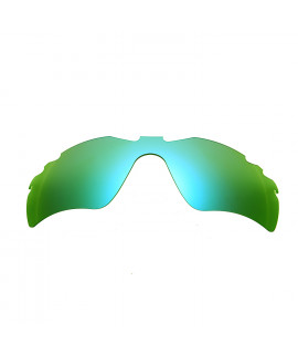 HKUCO Green Polarized Replacement Lenses For Oakley Radar Path-Vented Sunglasses