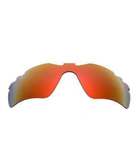 HKUCO Red Polarized Replacement Lenses For Oakley Radar Path-Vented Sunglasses