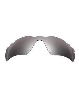 HKUCO Titanium Mirror Polarized Replacement Lenses For Oakley Radar Path-Vented Sunglasses