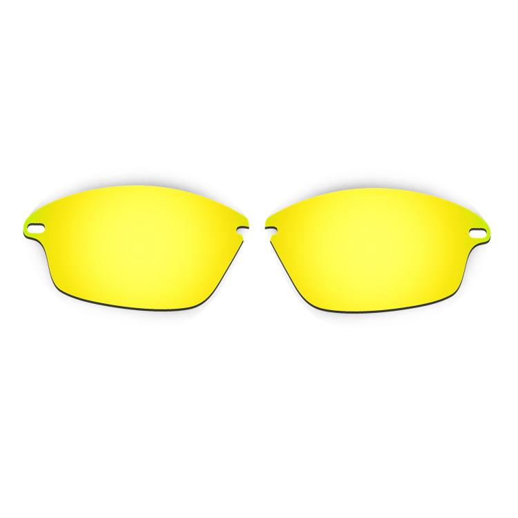 HKUCO Mens Replacement Lenses For Oakley Fast Jacket Blue/24K Gold/Purple Sunglasses JVH2gs4lEo