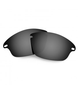 Hkuco Mens Replacement Lenses For Oakley Fast Jacket Sunglasses Black Polarized