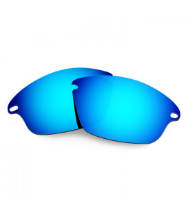 Hkuco Mens Replacement Lenses For Oakley Fast Jacket Sunglasses Blue Polarized