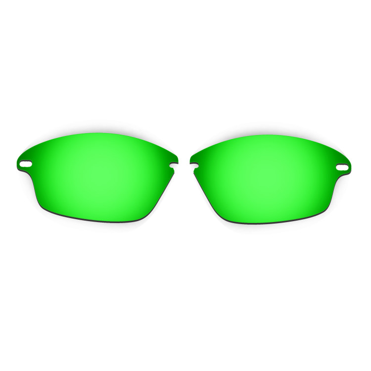 HKUCO Mens Replacement Lenses For Oakley Fast Jacket Sunglasses Emerald Green/Purple Polarized phm19vRxHt