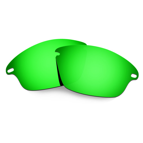 Hkuco Mens Replacement Lenses For Oakley Fast Jacket Sunglasses Emerald Green Polarized