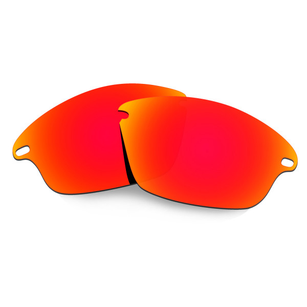 Hkuco Mens Replacement Lenses For Oakley Fast Jacket Sunglasses Red Polarized