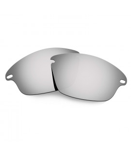 Hkuco Mens Replacement Lenses For Oakley Fast Jacket Sunglasses Titanium Mirror Polarized