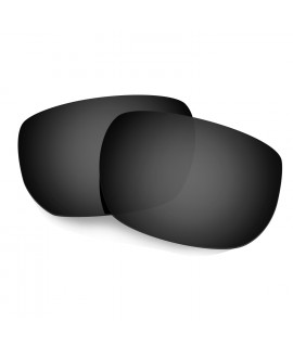 Hkuco Mens Replacement Lenses For Oakley Style Switch Sunglasses Black Polarized