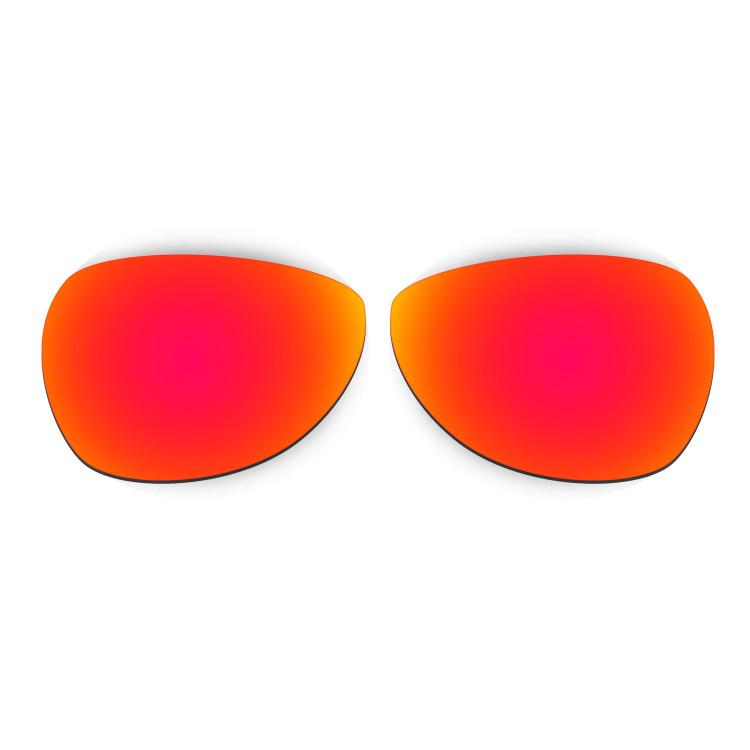 HKUCO Mens Replacement Lenses For fqbBiJKftk Felon Sunglasses Red/Black Polarized pQRAj9K9sa
