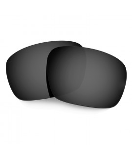 Hkuco Mens Replacement Lenses For Oakley Badman Sunglasses Black Polarized