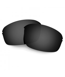 Hkuco Mens Replacement Lenses For Oakley Half Wire 2.0 Sunglasses Black Polarized