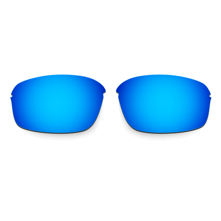 8e5ac0b6f54 Hkuco Mens Replacement Lenses For Oakley Half Wire 2.0 Sunglasses Blue Black  Polarized