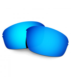 Hkuco Mens Replacement Lenses For Oakley Half Wire 2.0 Sunglasses Blue Polarized