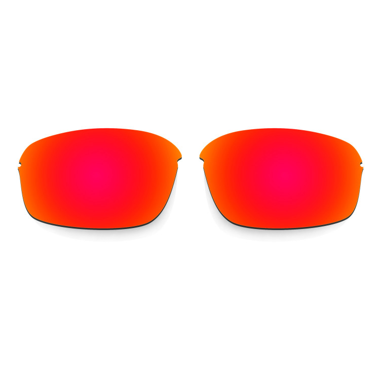 HKUCO Mens Replacement Lenses For Oakley Flak 2.0 Red/Emerald Green Sunglasses JFnEu8rK