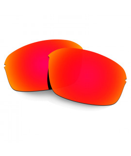 Hkuco Mens Replacement Lenses For Oakley Half Wire 2.0 Sunglasses Red Polarized
