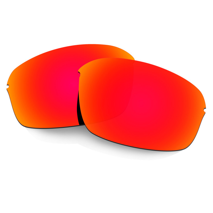 75dc5eb3e8f Hkuco Mens Replacement Lenses For Oakley Half Wire 2.0 Sunglasses Red  Polarized