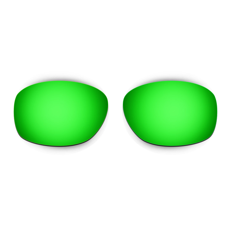 HKUCO Mens Replacement Lenses For Oakley Ten X Red/24K Gold/Emerald Green Sunglasses vomqGYVs