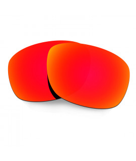 Hkuco Mens Replacement Lenses For Oakley Ten X Sunglasses Red Polarized