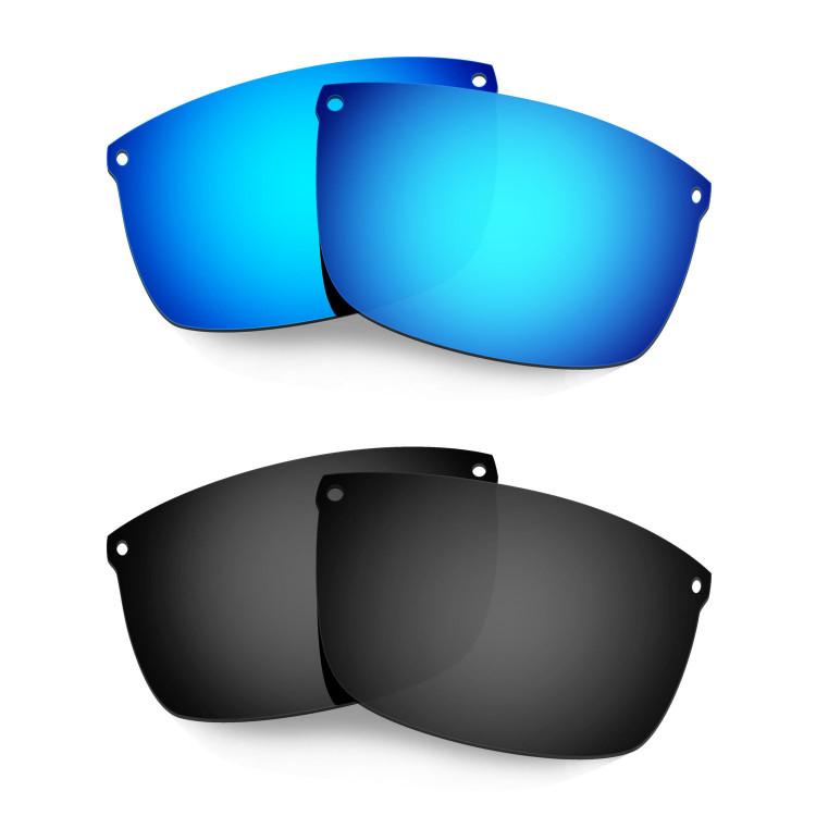 699d79e978bc Hkuco Mens Replacement Lenses For Oakley Carbon Blade Sunglasses Blue Black  Polarized