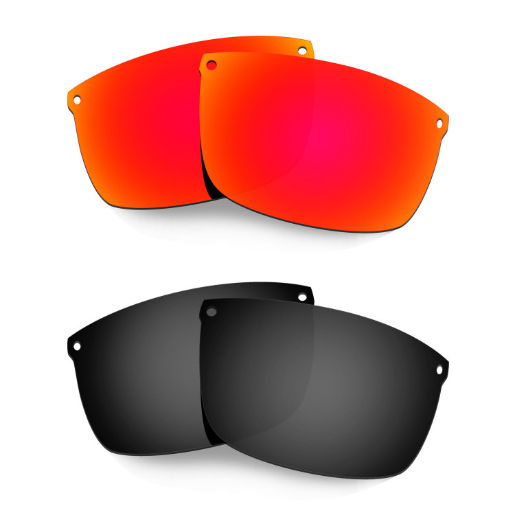 203d83a1a49 Hkuco Mens Replacement Lenses For Oakley Carbon Blade Red Black Sunglasses