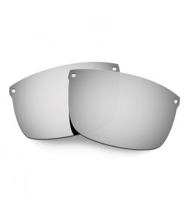Hkuco Mens Replacement Lenses For Oakley Carbon Blade Sunglasses Titanium Mirror Polarized