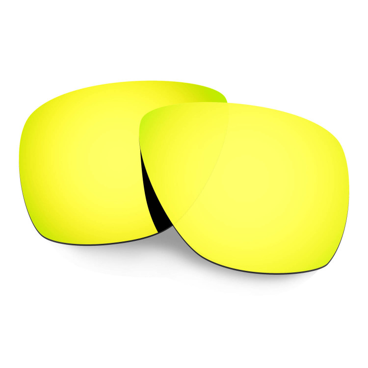 7e6b9b1f4f Hkuco Mens Replacement Lenses For Oakley Breadbox Sunglasses 24K Gold  Polarized