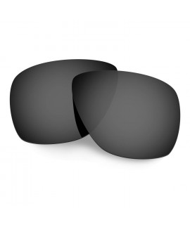 Hkuco Mens Replacement Lenses For Oakley Breadbox Sunglasses Black Polarized