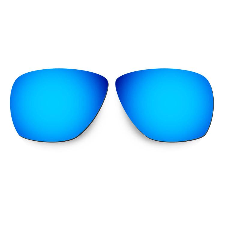 HKUCO Mens Replacement Lenses For Oakley Breadbox Blue/Black/Titanium Sunglasses 0hJnj