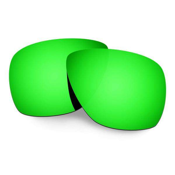 cba9120267 Hkuco Mens Replacement Lenses For Oakley Breadbox Sunglasses Emerald Green  Polarized