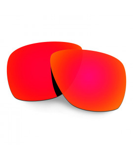 Hkuco Mens Replacement Lenses For Oakley Breadbox Sunglasses Red Polarized