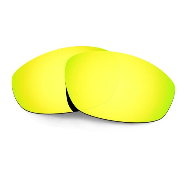 Hkuco Mens Replacement Lenses For Oakley Whisker Sunglasses 24K Gold Polarized