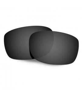 Hkuco Mens Replacement Lenses For Oakley Straightlink Sunglasses Black Polarized