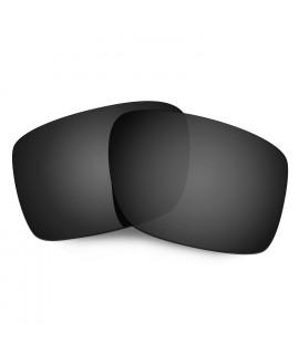 Hkuco Mens Replacement Lenses For Oakley Double Edge Sunglasses Black Polarized