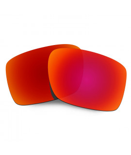 Hkuco Mens Replacement Lenses For Oakley Double Edge Sunglasses Red Polarized