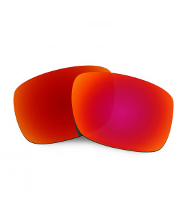 Hkuco Mens Replacement Lenses For Oakley Drop Point Sunglasses Red Polarized