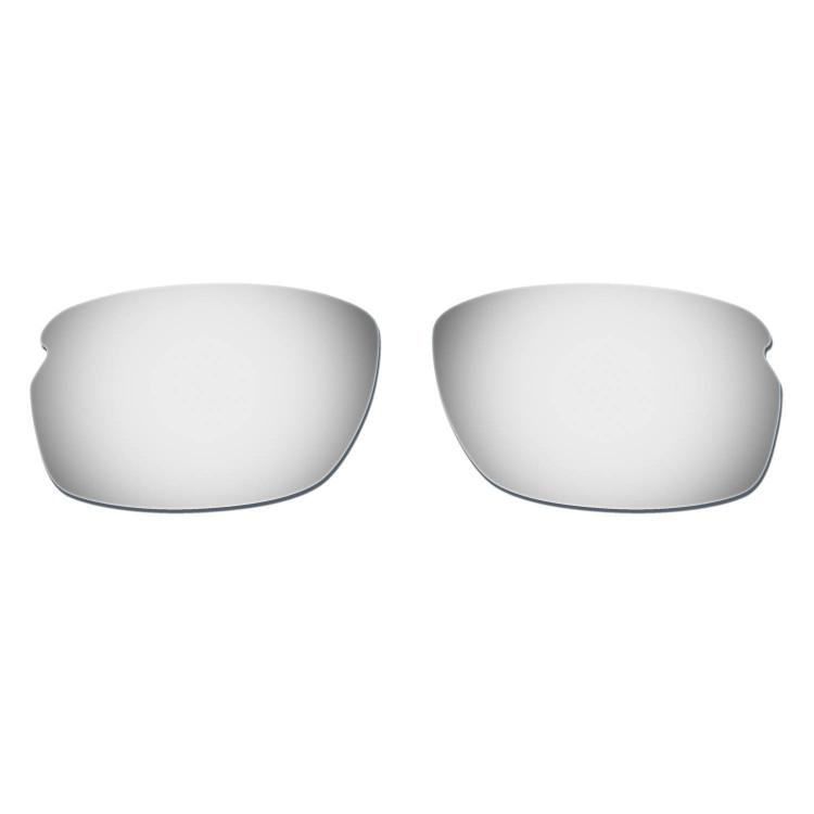 HKUCO Mens Replacement Lenses For Oakley Carbon Shift Sunglasses Titanium Mirror Polarized ejOwv1afZ