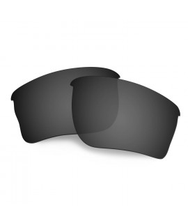 Hkuco Mens Replacement Lenses For Oakley Quarter Jacket Sunglasses Black Polarized