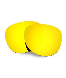 Hkuco Replacement Lenses For Oakley Stringer Sunglasses 24K Gold Polarized