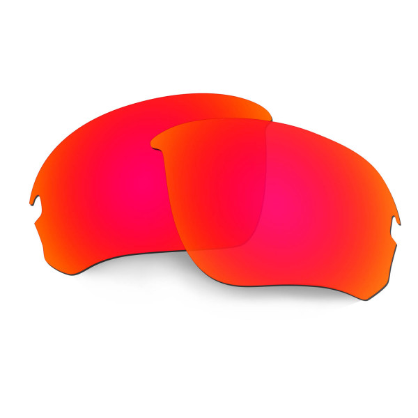 Hkuco Replacement Lenses For Oakley Flak Draft Sunglasses Red Polarized