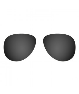 Hkuco Replacement Lenses For Oakley Elmont (Medium) Sunglasses Black Polarized