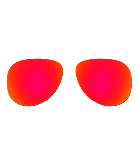 Hkuco Replacement Lenses For Oakley Elmont (Large) Sunglasses Red Polarized